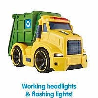 LIGHTS N SOUNDS RECYCLE TRUCK