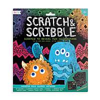 SCRATCH AND SCRIBBLE MONSTERS