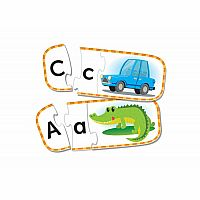 UPPER AND LOWER CASE ALPHABET PUZZLE CARDS