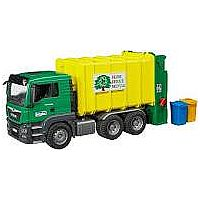 MB TGS Rear Loading Garbage Green/Yellow