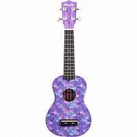 Ukulele Purple Mermaid